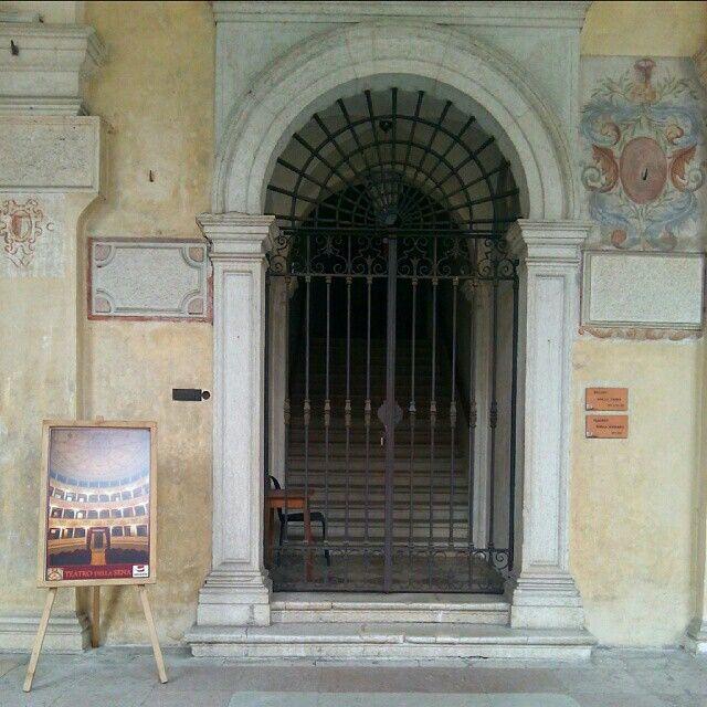#theaterDeLaSena #smallFenice #historic #tourism #feltre #belluno #veneto #italy