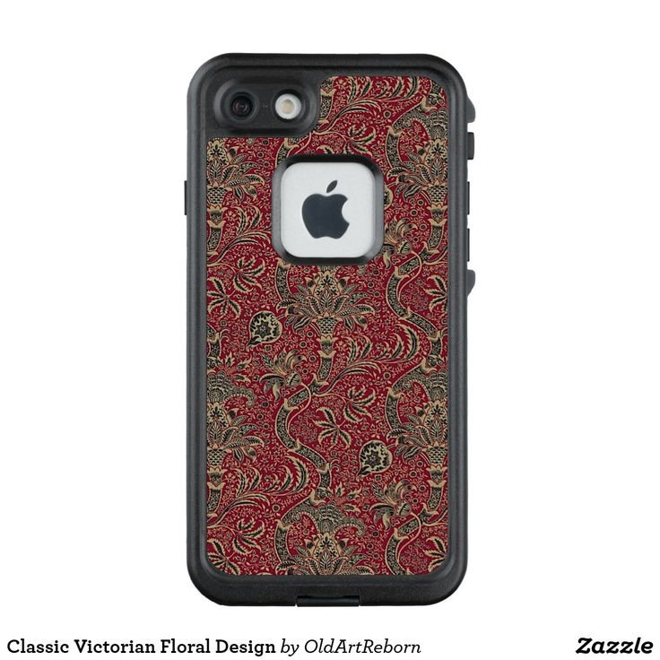 Classic Victorian Floral Design LifeProof® FRĒ® iPhone 7 Case