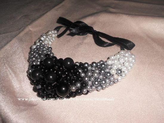 Colier perlute Degrade, by Colierehandmade, 80 Lei