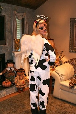 16 best Halloween images on Pinterest | Cow costumes, Halloween ...