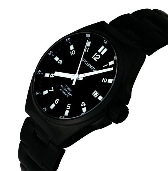 TimeZone : Industry News » N E W M o d e l - Archimede OutDoor Black