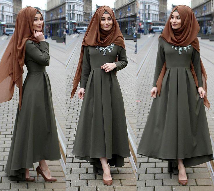 "Sümeyye Coktan  Onun Yari  (@hijab_is_my_diamond_official) on Instagram: ""Dress / Kleid / Elbise - www.misselegance.de  Hijab / Kopftuch / Basörtü - Hijab 246…"""