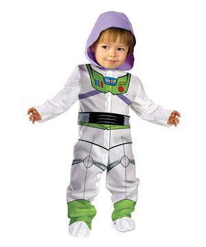 Another great find on #zulily! White  Green Buzz Light Year Dress-Up Outfit - Infant by Toy Story #zulilyfinds