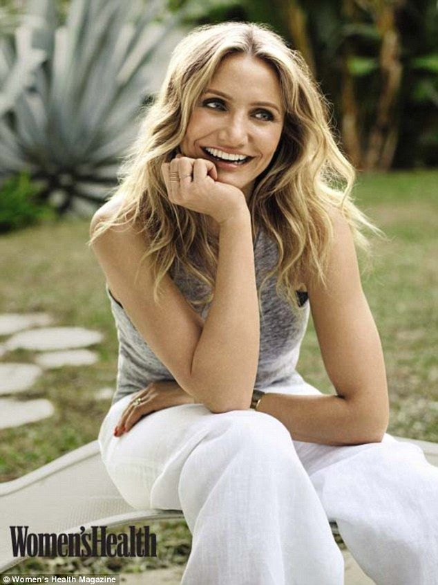 Dr. Cam: Cameron Diaz is sharing her advice on ageing well in the March issue of Women's Health
