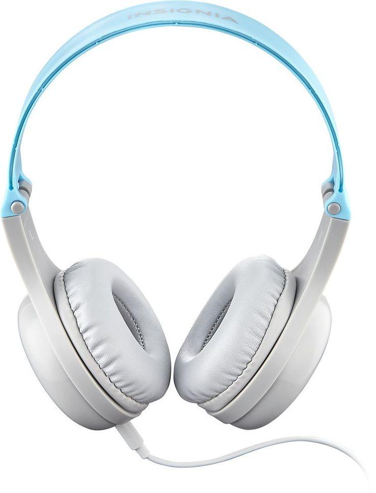 Insignia™ - Kids Headphones - Blue