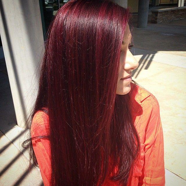 One of my favorite colors!!@nuuvo #violethair #purplehair #mahoganyhair #nuuvo #zingarabeauty