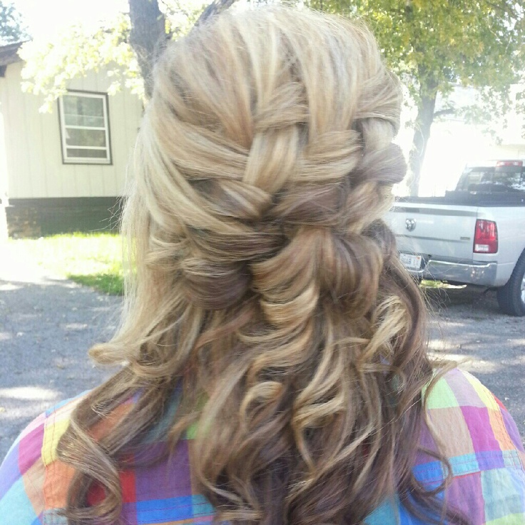 How To Make A Basket Weave Hairstyle : Best images about woven effects on hair dos