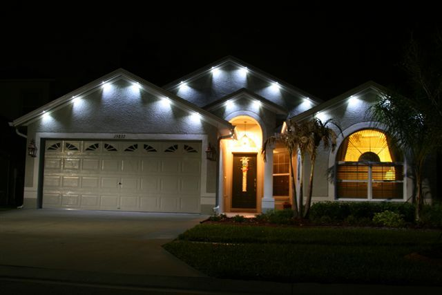 Outdoor soffit lighting soffit lights pinterest - Exterior soffit lighting spacing ...