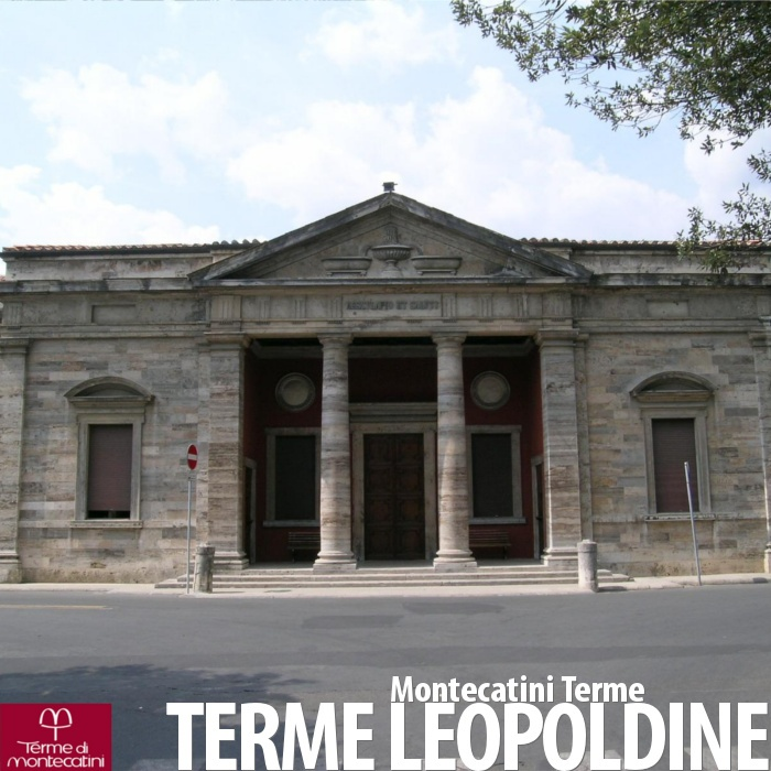 Le Terme Leopoldine di Montecatini Terme.