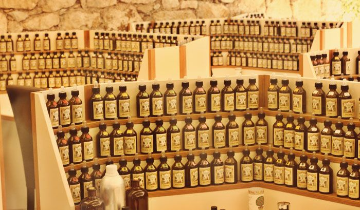 grasse france perfume. Grasse is best known for their flower production used to produce perfumes and soaps.