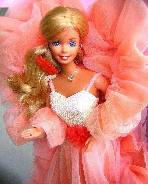 80's Peaches N' Cream Barbie.. omg.. I loved this Barbie