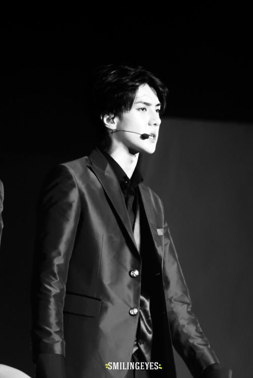 Sehun - 150530 Exoplanet #2 - The EXO'luXion in Shanghai Credit: Smiling Eyes.