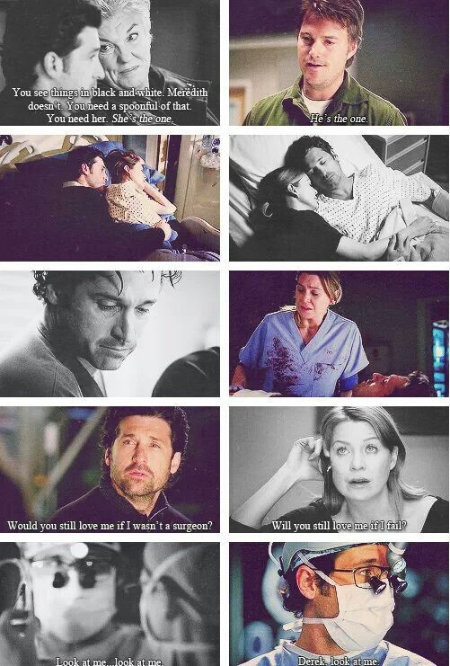Grey's anatomy dating quotes