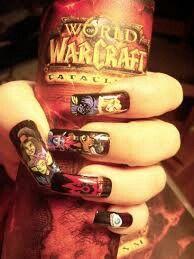 WoW manicure