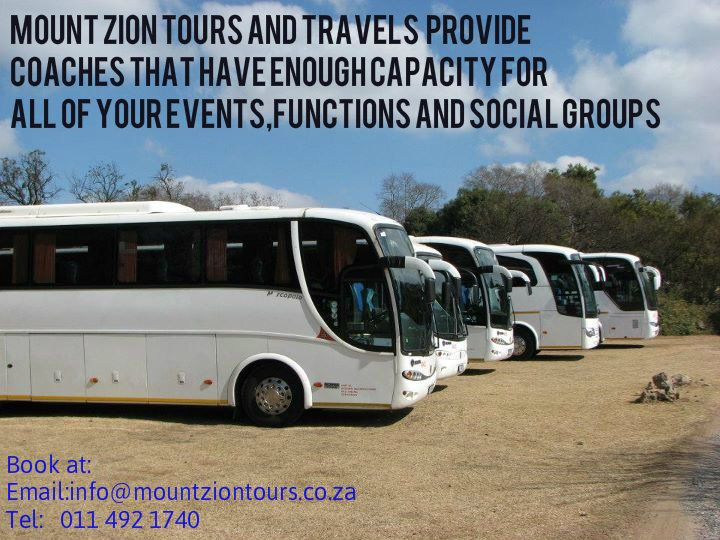 We provide you with coaches that have enough capacity to transport you to your own destination.Book now!