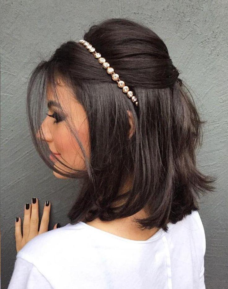 Neat Bridal Hairdo with Headband