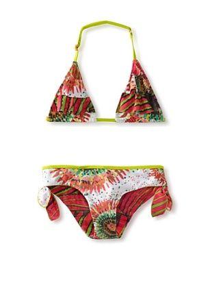 69% OFF Desigual Girl's 7-16 Floral Print Bikini (Multi Print)