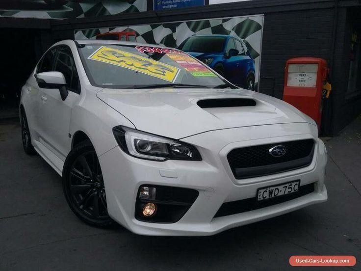 2014 Subaru WRX MY15 (AWD) White Automatic 8sp A Sedan #subaru #wrx #forsale #australia