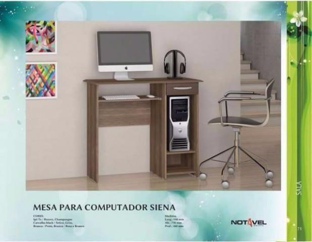Mesa Computador Siena Montagem Gratis