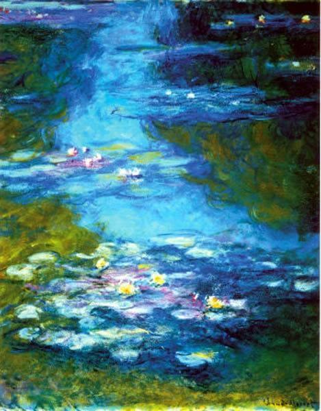 Art: Monet - Water Lelies.