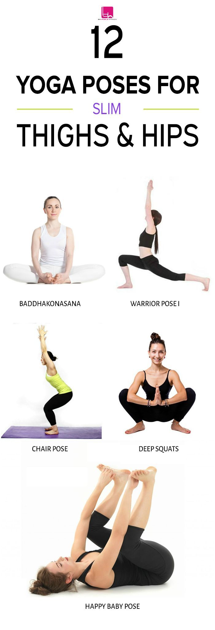 Yoga Poses for Slim Thighs and Hips