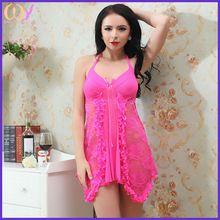 Pink color body sheer sext clothing sexy nude teddy lingeries   Best Buy follow this link http://shopingayo.space