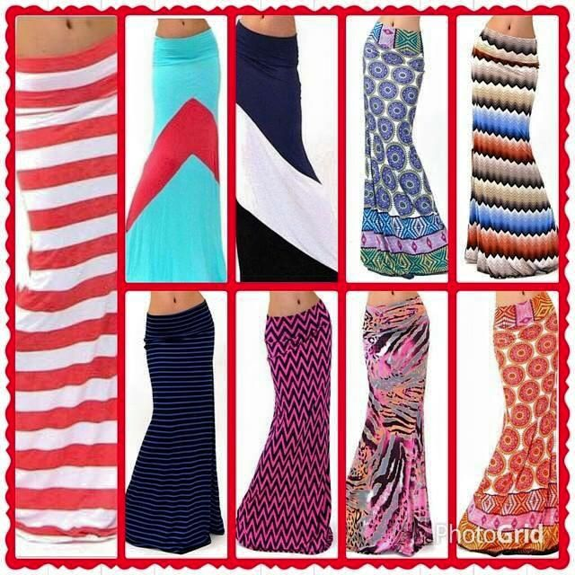 New Maxi skirts listed on the site. www.laurnetleggings.com