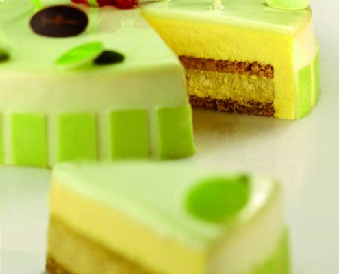 Iginio Massari   Torta alla vaniglia e pistacchio