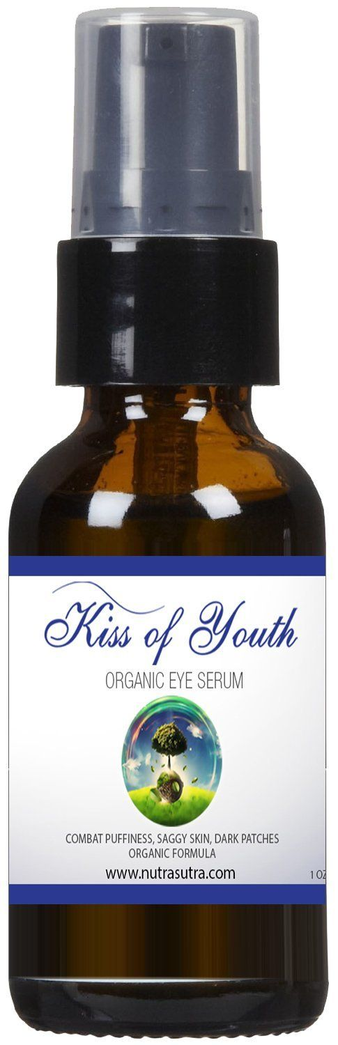 Organic Eye Serum - Firm and Smooth Facial Skin, Lift and Restore Anti-wrinkle Eye Cream Product, Double Collagen Production and Reduce Wrinkles, Anti-aging Ingredients >>> You can find more details by visiting the image link.