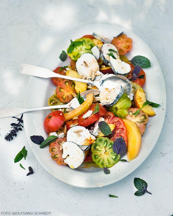 45 besten sommerliche salat rezepte bilder auf pinterest. Black Bedroom Furniture Sets. Home Design Ideas