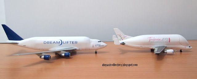 Die-Cast Collector: Head-to-Head: Boeing Dreamlifter vs Airbus Beluga