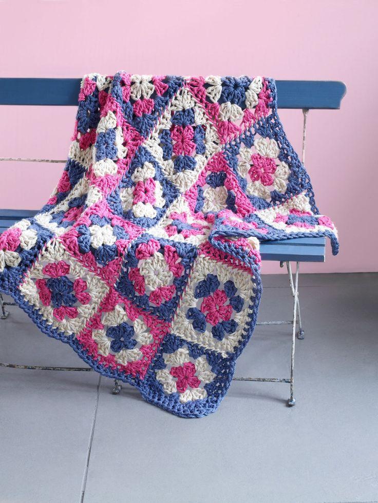 Cottage Throw (Crochet)