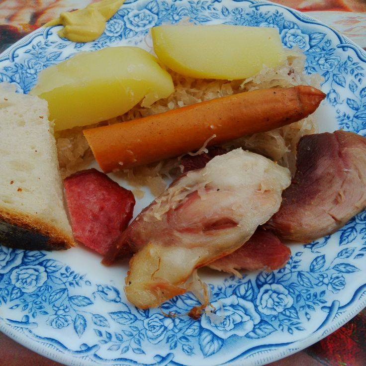 Choucroute, cuisinée par belle-maman
