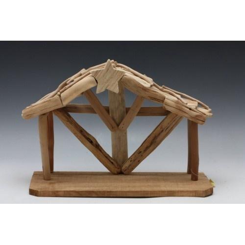 Dřevěný betlém - větší obrázek