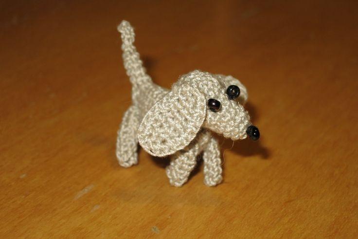 háčkovaný pes/ crotcheted dog