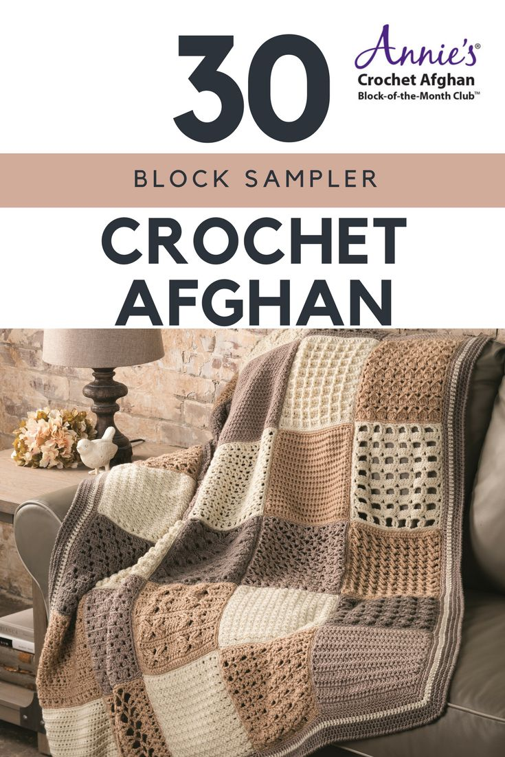 Annie S Culinary Creations Part 2: 12 Best Annie's Crochet Afghan Block-of-the-Month Club