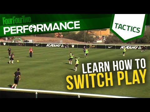 Learn how to switch play | Football training drills | Tactics - YouTube