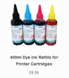 Refillable dye available from our online webstore