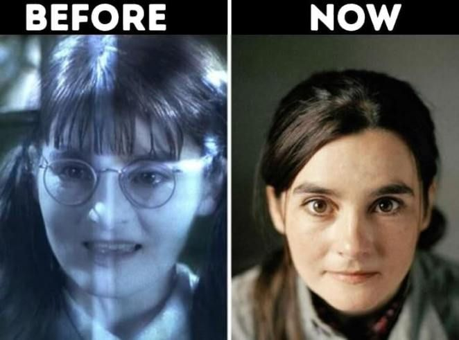 Actors From Harry Potter Now Moaning Myrtle Played By Shirley Henderson Harry Potter Now Who Plays Harry Potter Harry Potter Play
