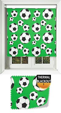Footy Green Roller Blinds|Value For Money Prices