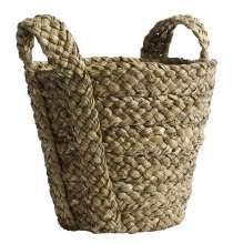 Basket w/handles, wickerwork | Nordal.eu