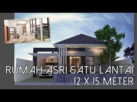 Rumah Minimalis 8 5 X 19 Satu Lantai 4 Kamar Tidur Youtube Desain Rumah Home Fashion Rumah