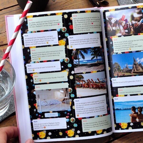 Hardcover Chat Buch Zapptales Whatsapp Und Facebook Messenger Valentijncadeaus Hardc In 2020 Creative Gifts For Boyfriend Boyfriend Gifts Boyfriend Anniversary Gifts