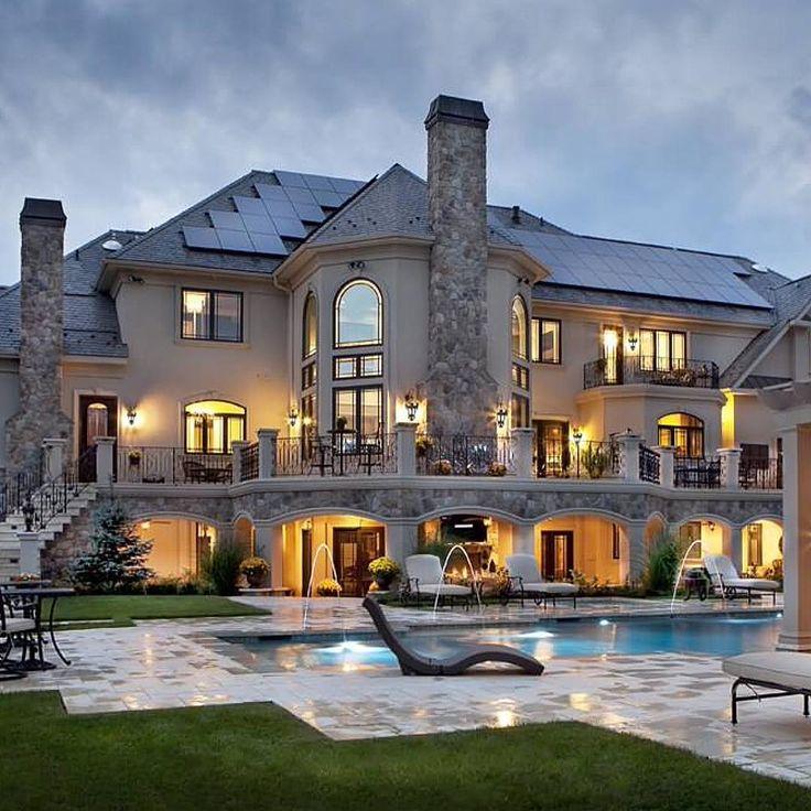 Lake Homes Fancy: Best 25+ Mansion Houses Ideas On Pinterest
