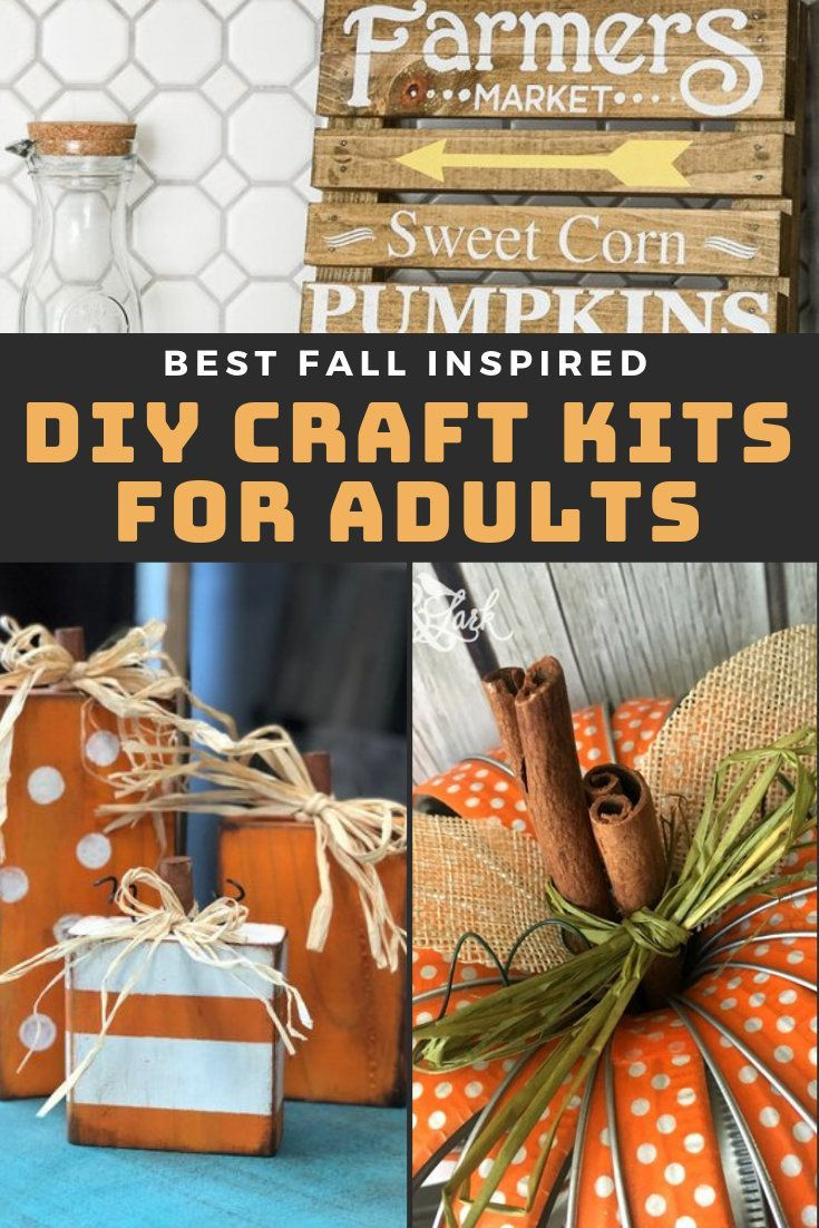 Best Diy Craft Kits For Adults To Try This Fall Soap Deli News Diy Craft Kits Craft Kits Diy Crafts