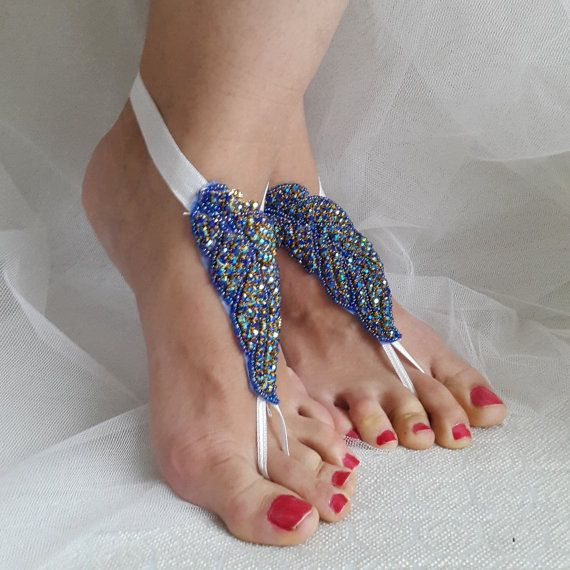 Hey, I found this really awesome Etsy listing at https://www.etsy.com/listing/269919330/rhinestoneblue-wedding-sandalssomething
