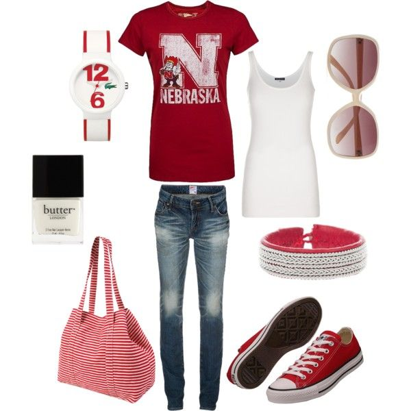 I never pin clothing, but I love that top... And obviously... GBR, BABY!!