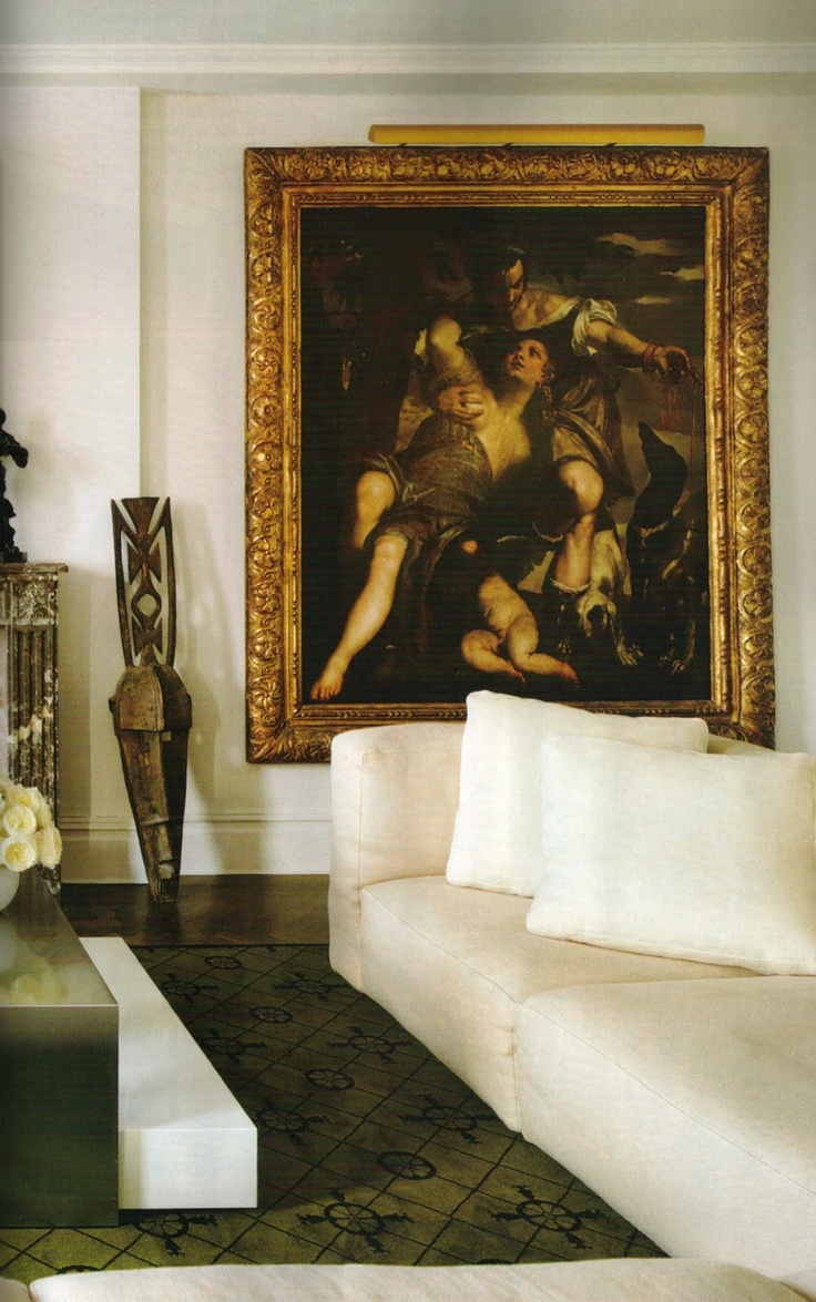 US Interior Designs DESIGN ON FIFTH AVENUE FREDERIC MALLE Lovely Couch And Painting