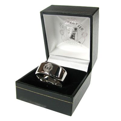 Man United Small Band Ring | Manchester United Gifts | Man United Shop