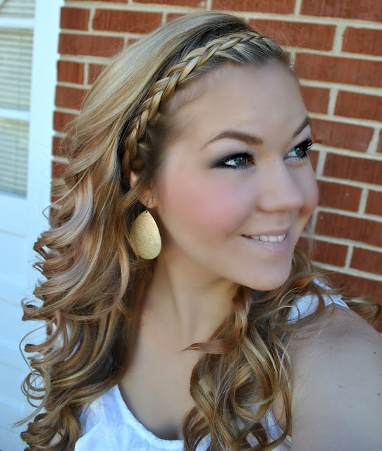 Best 25+ Curly braided hairstyles ideas on Pinterest | Prom hair ...